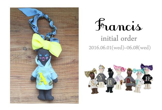 francis-別注イニシャル