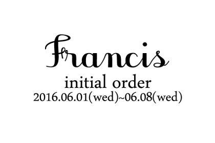 francis-別注イニシャル2